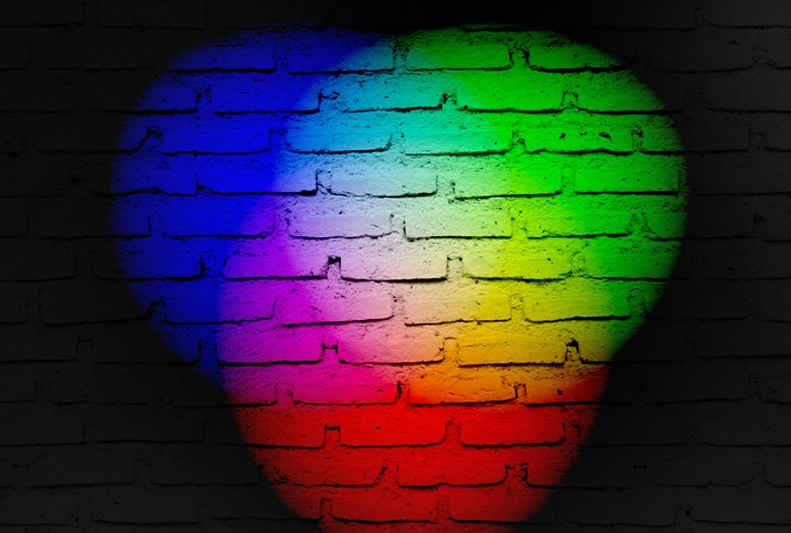 All Colors Shown In Visible Spectrum