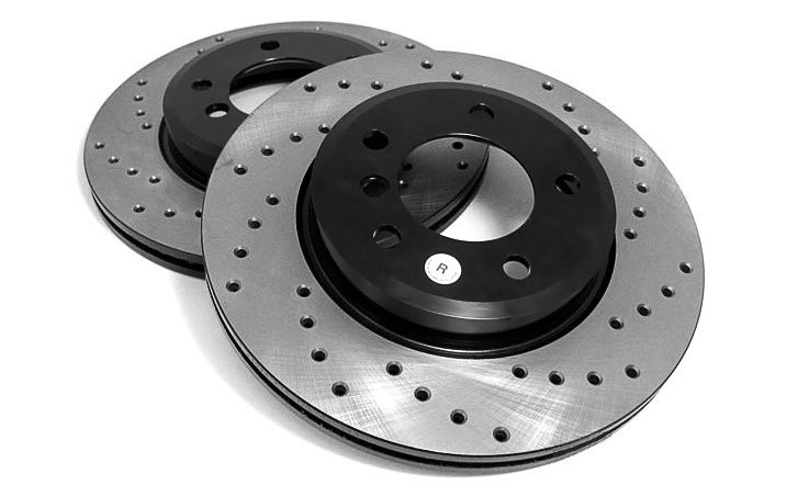 Typical Drilled Rotor