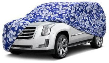 Car Covers With Printed Pattern