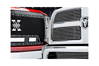 Choosing Your Grille Design | Mesh, Billet, CNC & More