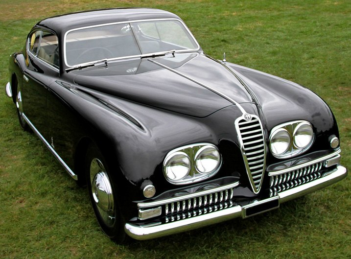 1949 Alfa Romeo 6C Berlinetta With Chrome Bumper