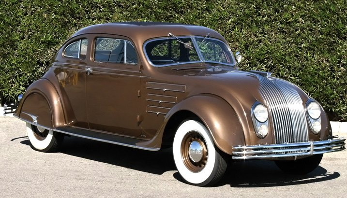 Chrysler Airflow With Metal Bumper