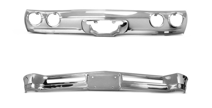 Replacement Chrome Bumper