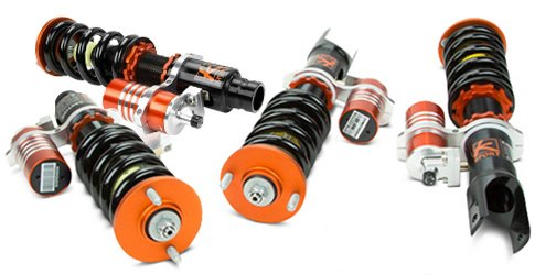 KSport Circuit Pro Coilover Kit With External Fluid Reservoirs
