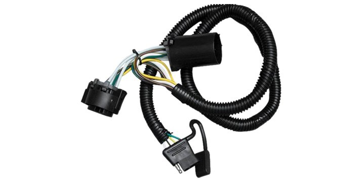 connect your car lights to your trailer lights the easy way Tow Ready Trailer Wiring Diagram trailer wiring harness installation