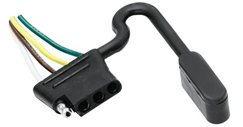 Connect Your Car Lights To Trailer The Easy Way. Trailer 4 Flat Plug. Dodge. Dodge Tail Light Harness Flat At Scoala.co