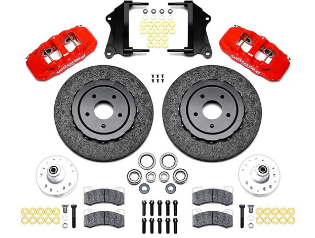 Wilwood Street Performance Carbon Ceramic Drum-to-Disc Conversion Kit