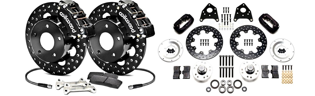 Wilwood Track-Only Drag Race Drum-to-Disc Conversion Kit