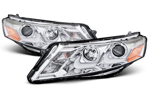 Anzo USA Chrome Headlights