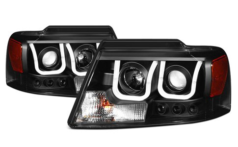 Anzo USA U Bar Headlights