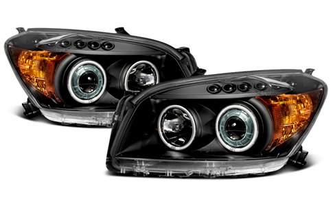 CG Black Headlights