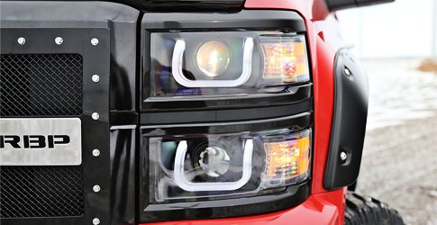 Chevy Silverado Custom Headlights