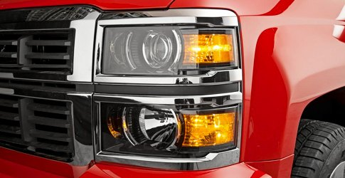 Chevy Silverado Factory Headlights