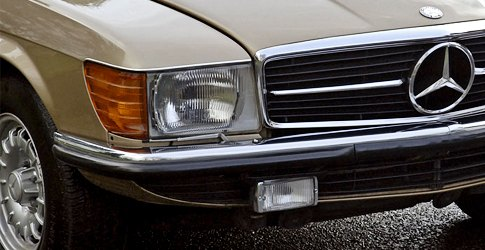 Mercedes Benz Euro Headlights
