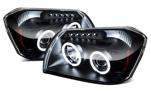 Spec D Halo Headlights