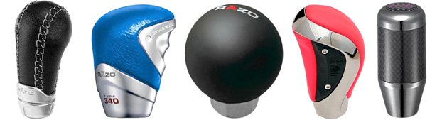 Custom Shift Knobs From Razo