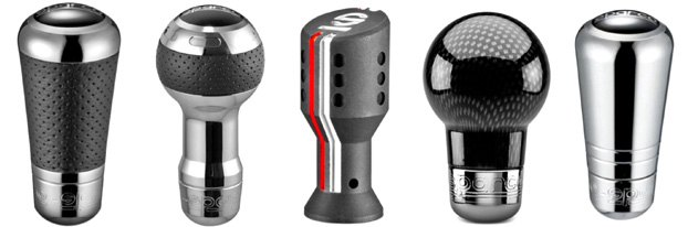 Custom Shift Knobs From Sparco