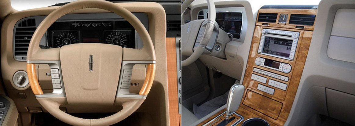 Lincoln Navigator With Actual Factory Wood And OE Replica Kits