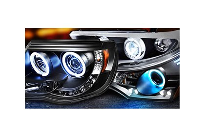 Different Styles of Aftermarket Headlights