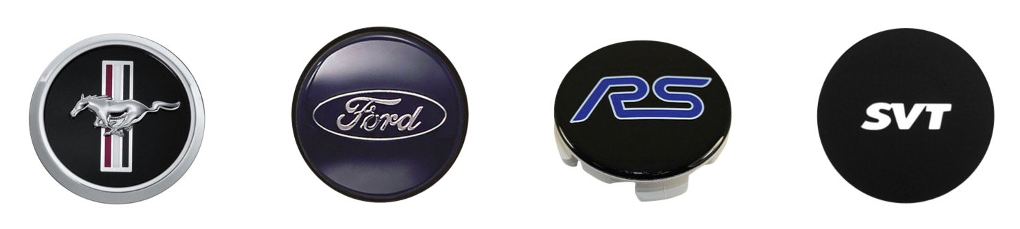 Ford Performance Wheel Center Caps