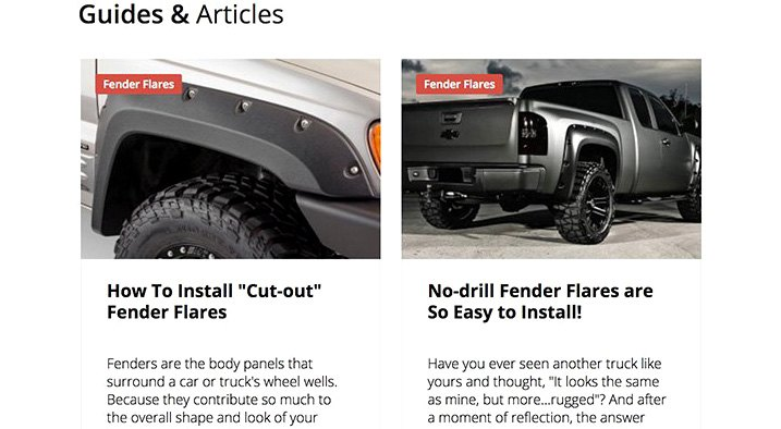 Related Fender Flares Articles Preview