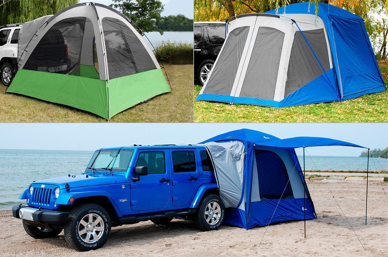 Ground-Level Tents For Wagons