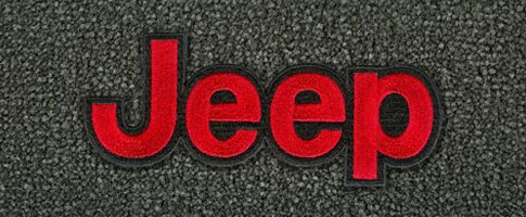 Embroidered Jeep Logo