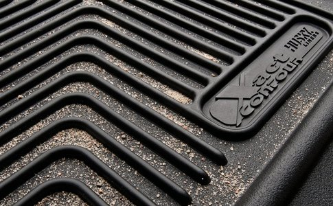 X-Act Contour Floor Mat With Grooves
