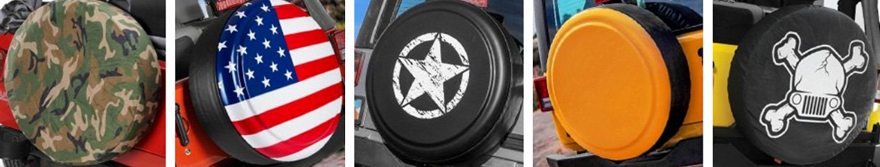 Spare Tire Covers Variety
