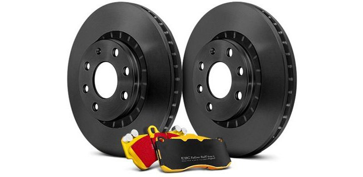 Replacement Rotors And Brake Pads