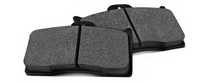 Slotted Brake Pads