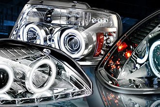 What Are The Different Types Of Halo Headlight Rings?
