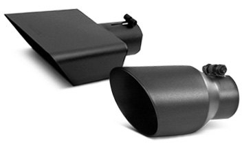 Slash Cut Exhaust Tips