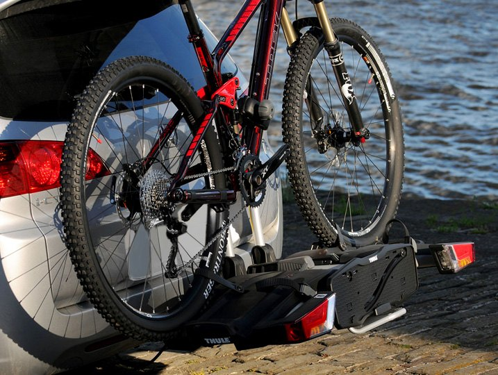 Platform Style Hitch Mounted Bike Carrier