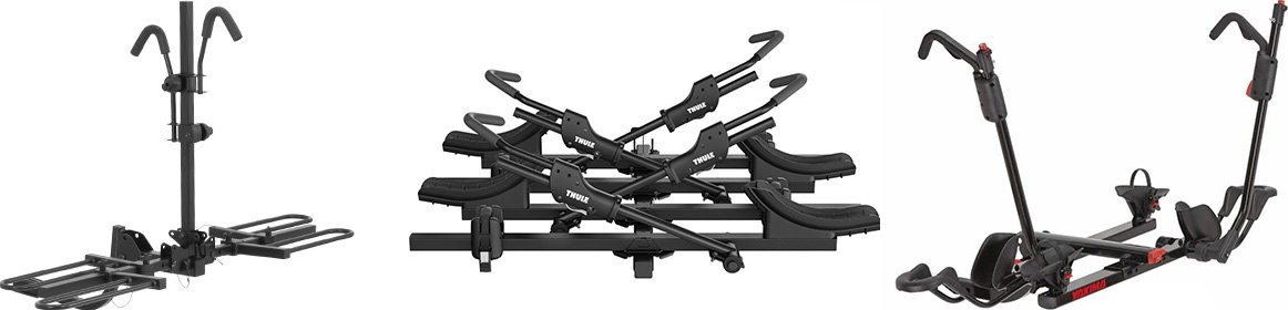 Platform Style Hitch-Mounted Bike Carriers