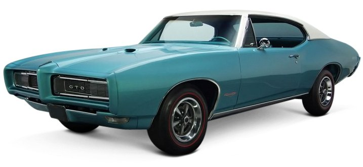 The New-for-1968 Pontiac GTO