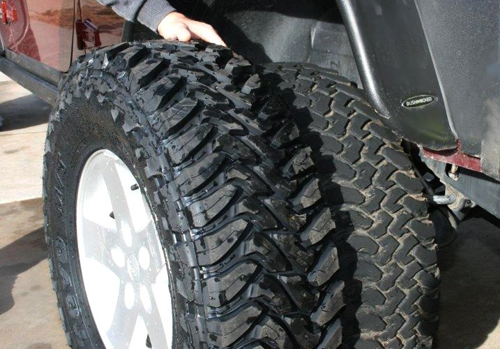 How much lift is needed for larger tires on my 2007-up Jeep