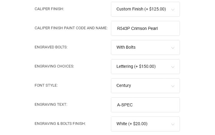 How To Order Customized Brake Caliper Covers