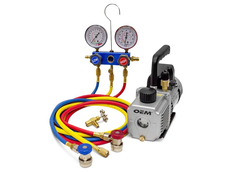 OEM Tools R134a A/C Starter Kit