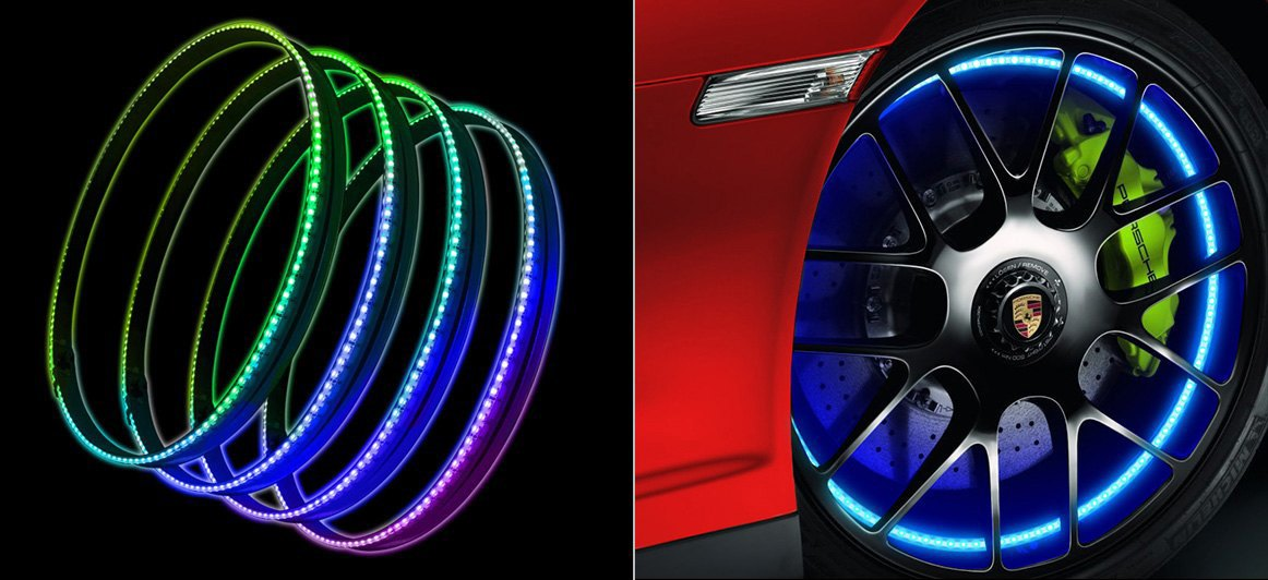 Oracle Lighting LED Illuminated Wheel Rings Kit