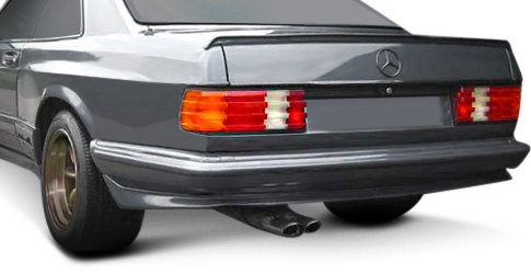 Duraflex Custom Fiberglass Fender Kit For 1980s Mercedes Coupe