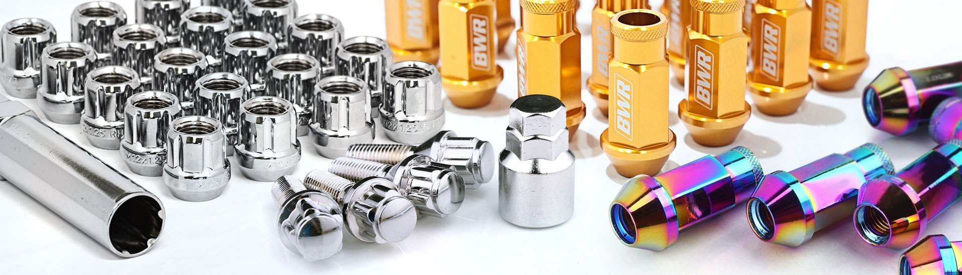 Lug Nuts and Locks Dress Up And Protect Your Wheels