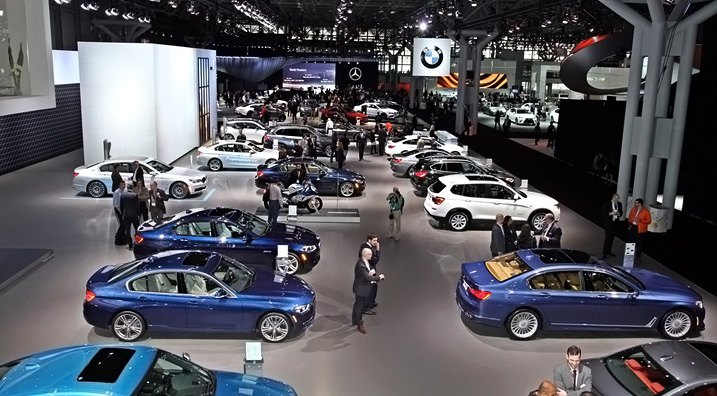 New Vehicle Auto Show Gathered Yearly
