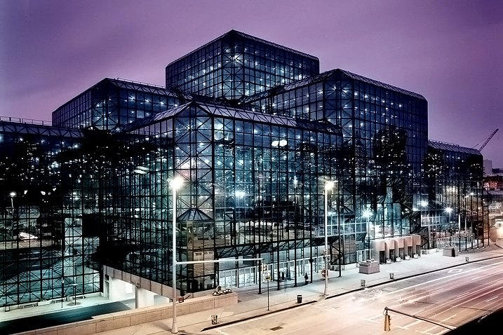Javits Center in Manhattan Full Of All New Cars