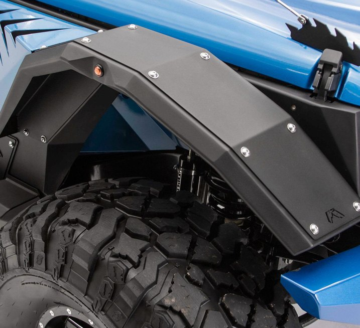 No-drill Fender Flares are So Easy to Install!