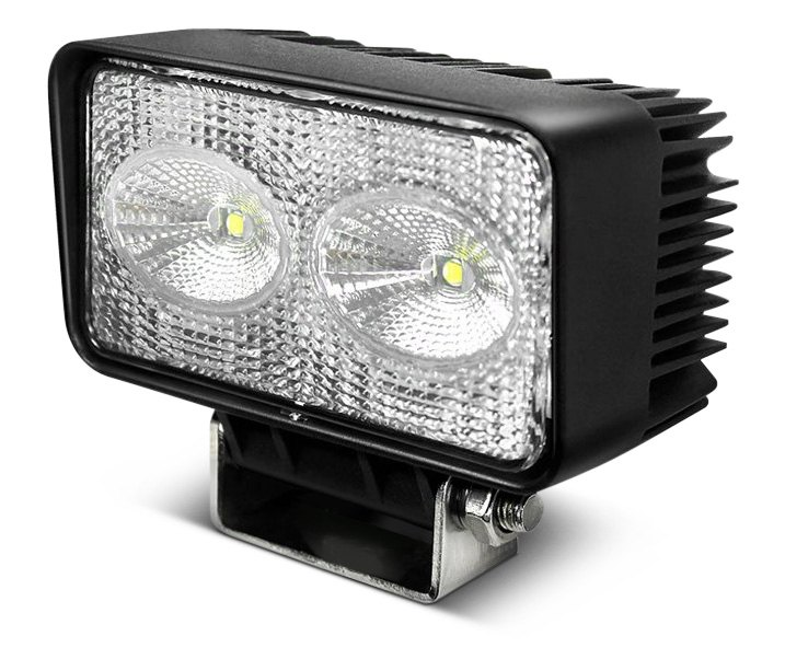 Nova-Lux Rectangular Chrome Fog Light