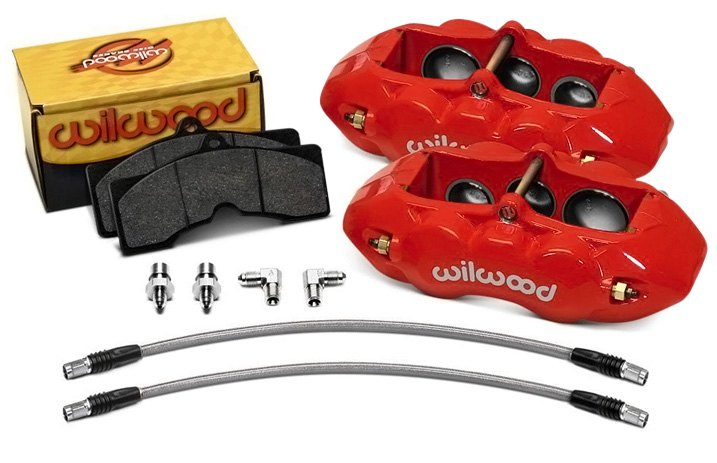 Set Of Fixed Wilwood D8-6 Calipers