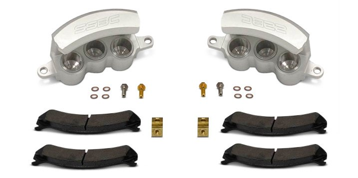 Set Of Floating SSBC Tri-Power HD Quick Change Front Calipers