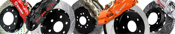 Repair vs Performance Brake Calipers & Hoses Variety