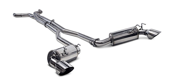 Straight Through Ark Performance N2 Stainless Steel Exhaust System